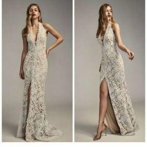 Tadashi Shoji Elanor Wedding Gown Size 4